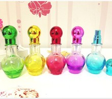 20ml Beautiful Glass Scent Bottle Perfume Fragrance Vials Cosmetic Packaging for Perfume Shop 10pcs/lot DC468