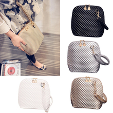 2017 New Crossbody Shoulder Women Messenger Bags Paint Bright Surface Scale Pattern Wave Styling Bag LXX9
