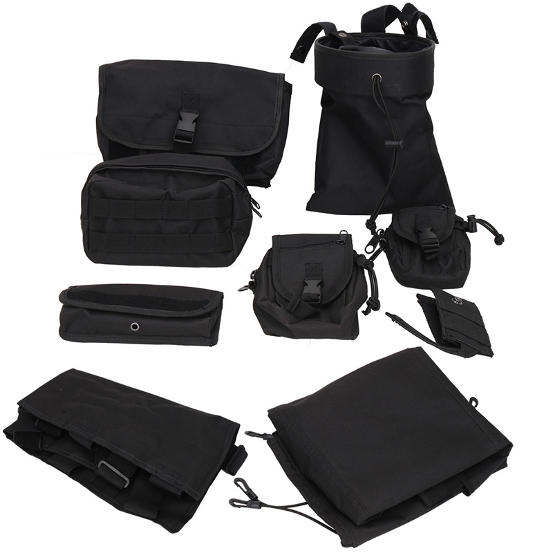 Front Seat Cover Storage Bags Multi Pockets Tool Saddle Bag For Jeep Wrangler JK 2007-2017 Multifunctional Cargo Pouches KOLEROADER (2)
