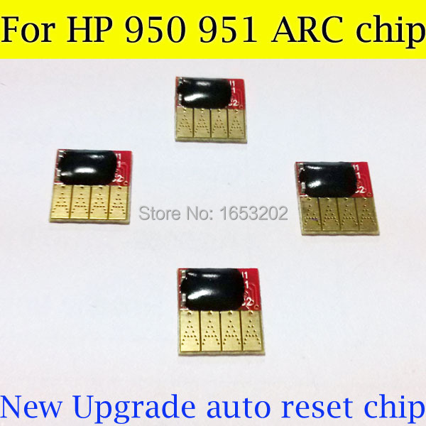 2 Set/Lot HP950 951 Ink Cartridge Chips For HP 950 951 Officejet Pro 8100-n811a 8600-n911n 276dw 251dw 8630 e-All-in-One<br><br>Aliexpress