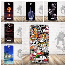 For Lenovo A2010 Silicon Case Painted High Quality Protector TPU Back Cover Case For Lenovo A 2010 Phone 3D Relief Cover