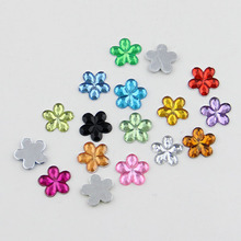 60PCS/Lot Free shipping 10mm Resin Flatback rhinestones & Loose Beads For Jewelry accessories Nail Art&Mobile phone stick drill
