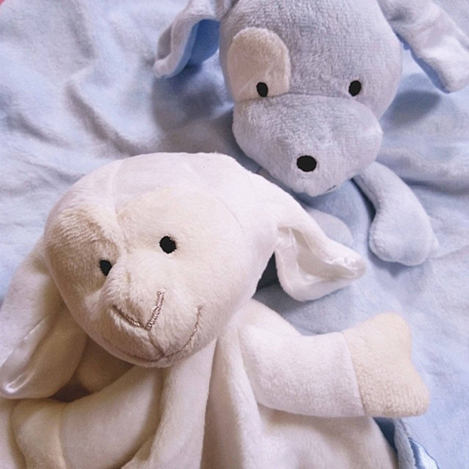 New Soft Appease Towel Baby Toys Soothe Reassure Sleeping Animal Blankie Towel Educational Rattles Clam Toy Kids Gift Cute Doll (13)