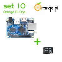 Orange Pi One SET10: Orange Pi One+ 16GB Class 10 Micro SD Card Supported Android, Ubuntu, Debian Above Raspberry