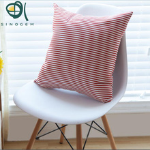 Sinogem Stripe Cushion Cover Geometric Nordic 3 Types Of Throw Pillow Case Stripe Home Sofa Decorative Vintage Cushion Cover(China)
