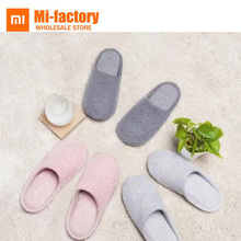 Buy New Xiaomi Mijia Home Slippers Women Men Winter Autumn Anti-bacterial Cotton Indoor House Home Slippers Shoes Remote Control for $18.93 in AliExpress store