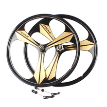 26 mountain bike magnesium aluminum alloy one piece wheel accrue knife one piece wheel bearings bike