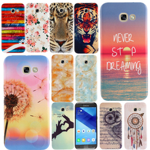 Dandelion Dream Printed soft Gel tpu phone case For SAMSUNG GALAXY A3 A5 A7 2017 A320 A520 2016 A510 Silicone Crystal back cover