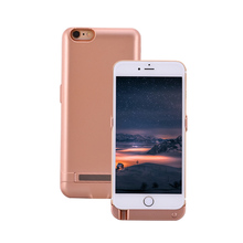 2017 New Extended Rechargeable Battery Case Power Bank Cover Portable Charger Battery Pack for iPhone 5 5s SE/6 6S/6Plus 6s plus(China)