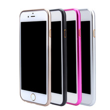 Aluminum Metal Bumper Case Protective Cover For iPhone 6/6s 4.7 inch and for iPhone 6Plus/6s Plus 5.5 inch Ultra Thin Phone Case