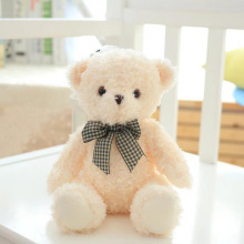 Nooer 20CM Cute Hot Bowknot Teddy Bear Plush Toy For Children Bear Plush Doll For Girls Valentine's Day Birthday Baby Kids Gift