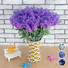 Lavender Wholesale Fake Flowers Home Furnishings Decorative Items Wedding Simulation For Decoration