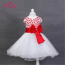 MQA L558 baby girl clothes children girl beautiful party princess wedding marry casual design girl dress 2017 new arrival