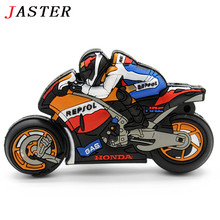 JASTER 100% true capacity wholesale price 1GB 2GB 4GB 8GB 16GB 32GB motorcycle design fashion rubber USB flash drive pen drive