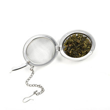 3size Tea Bags Stainless Steel Mini Tea Ball Infuser Filter Loose Tea Leaves Strainer(China)