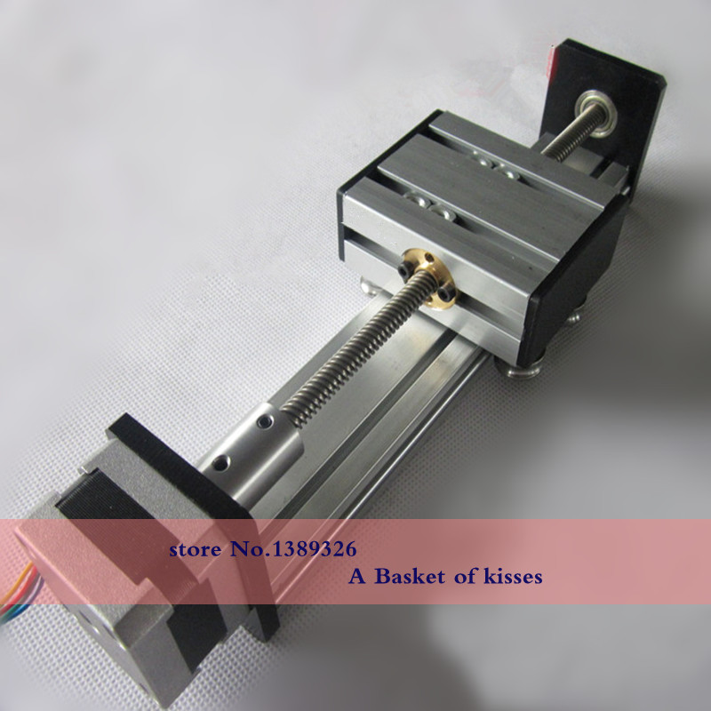 The linear guide slider 42 stepper motor 200MM long effective stroke 120MM<br><br>Aliexpress