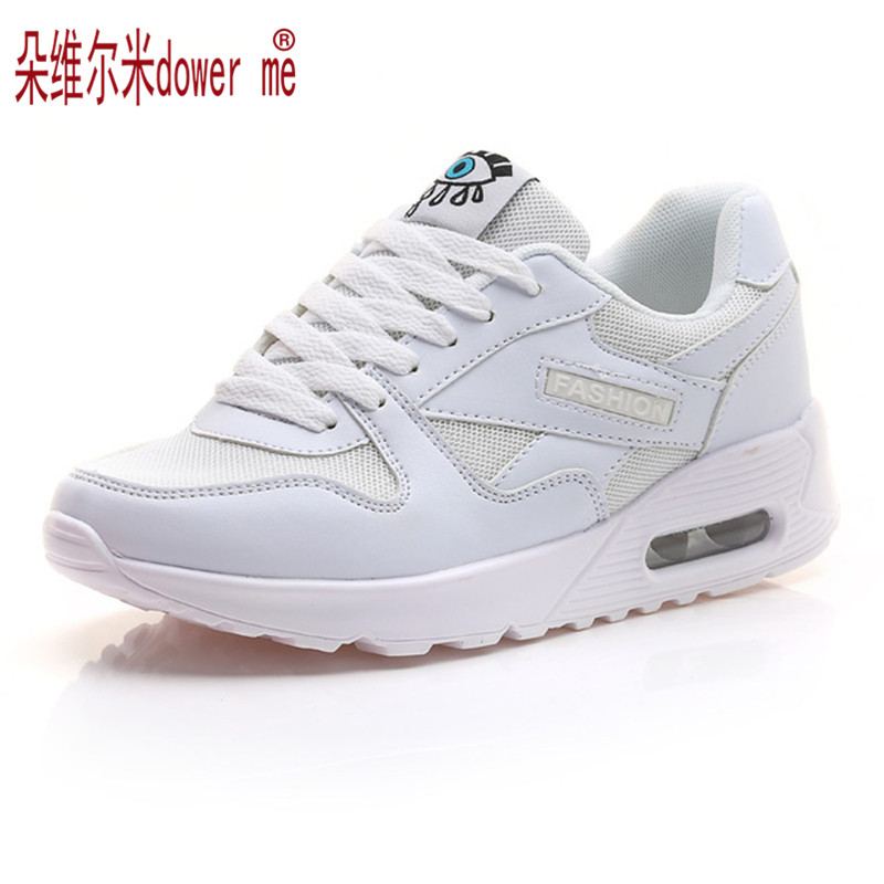 New 2017 Fashion Flats Women Trainers Breathable Sport Woman Shoes Casual Outdoor Walking Women Flats Zapatillas Mujer<br><br>Aliexpress