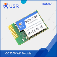 USR-C322a CC3200 SMT type UART Dual TTL to WiFi Wireless modules with Internal Antenna DNS DHCP