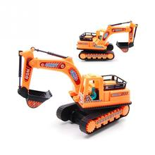 Buy Model Children Toy Engineering Vehicles Excavator New Truck Simulation Inertia Car Toy for $2.04 in AliExpress store