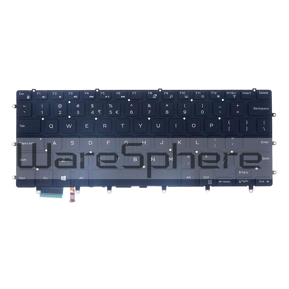 New Genuine Dell XPS 15 9550 9560 9570 US English QWERTY Backlit Keyboard 0WDHC2