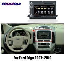 Liandlee  Din Car Android For Ford Edge   Radio Gps Map Player Screen