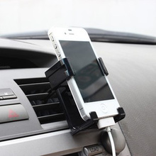 Top Quality Car Air Condition Vent Mount Holder Phone Holder Cradle Stand For iPhone Other Cell phone Mobile GPS
