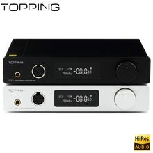 Buy New products TOPPING DX7s Benchtop Fully Balanced Decoder Headphone Amplifier XMOS XU208+ES9038Q2M+OPA1612,DSD512 USB DAC for $499.99 in AliExpress store