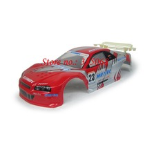 HENGLONG 3851-1 RC EP car Lightning 1/10 spare parts No. 10013 Red Car body shell / car shell / car body