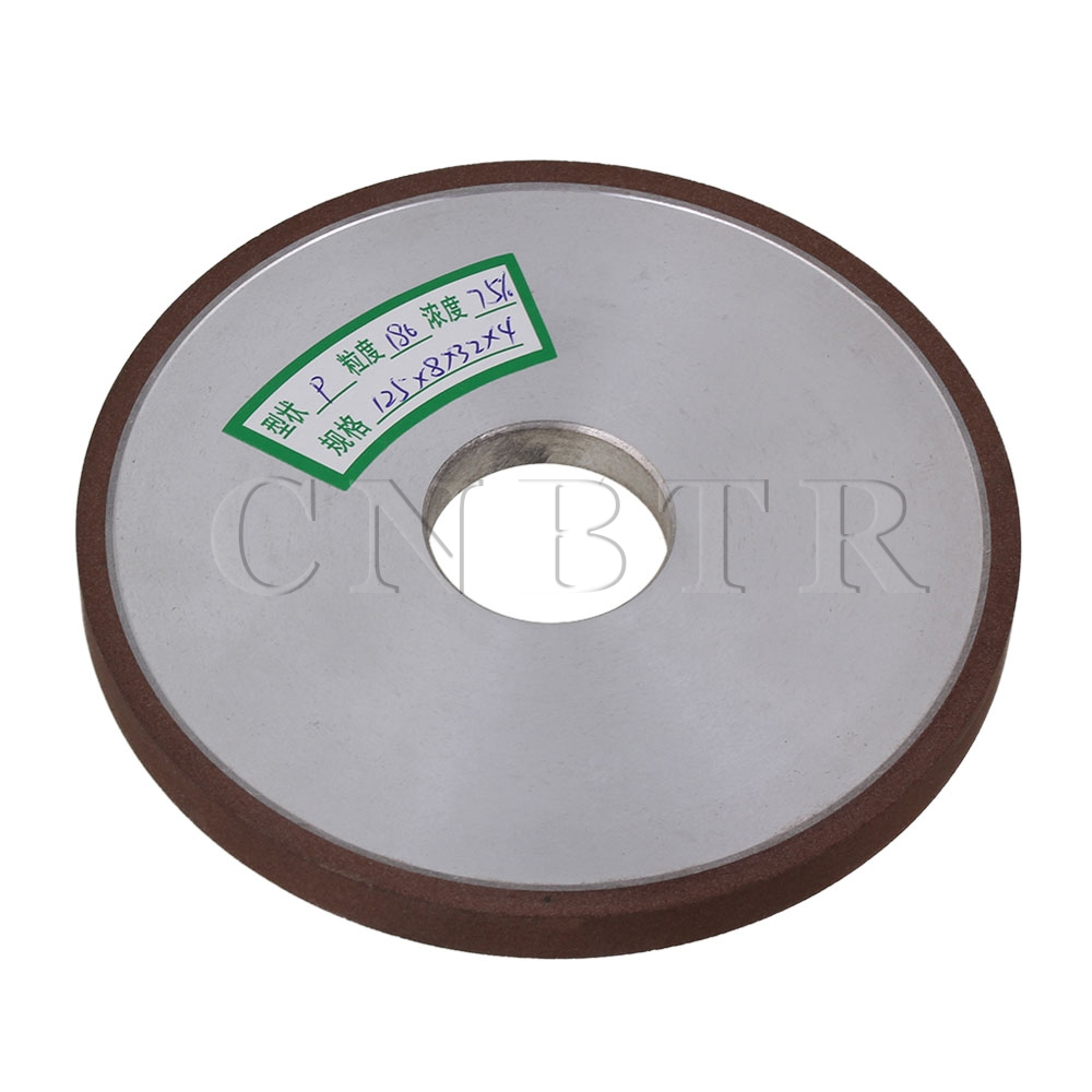 CNBTR 125x8x32mm Diamond Straight Flat Disc Grinding Wheel #180 Grit Cutter<br><br>Aliexpress