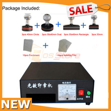 Photosensitive Flash Stamping Making Machine Kit Selfinking Make Seal Stamp 110V/220V(China)