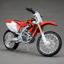 Freeshipping Maisto HONDA CRF 450R 1/12 Motorcycles Diecast Metal MotorBike Model Toy For Kids(China)