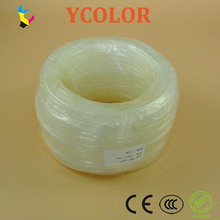 100 meters/lot 4mmx3mm ink tube/ink pipe for Roland, mimaki, mutoh solvent printer soft silicone ink tube