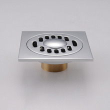 Stainless Steel Special Deodorant Floor Drain For Washing Machine,Bathroom Shower Floor Drains Strain Filter Covers Dual Purpose(China)