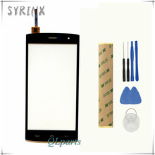 Syrinx + Tools Tape Mobile Phone Touchscreen For HOMTOM HT7 HT7 Pro Touch Screen Digitizer Touch Screen Panel Sensor Front Glass(China)