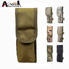 Tactical Molle Universal Battery Pouch Waterproof Flashlight Battery Holder case Outdoor Sports Hunting Camping Accessories