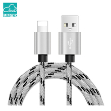 CloudTech 1M/2M/3M Lighting Cable USB Cable Adapter Fast Charger For i6 iphone 7 6 6s Plus i5 iphone 5s 5se ipad air 2 i7 ios 10