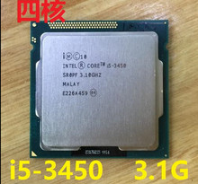 lntel I5 3450  i5-3450 CPU Processor Quad-Core 3.1Ghz /L3=6M/77W  Socket LGA 1155 Desktop CPU i5-3450 (working 100%)