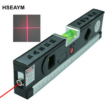LASER LV04 1m Aluminium Plate Laser Tool Spirit Level Mini Laser Levels Laser Leveler(China)