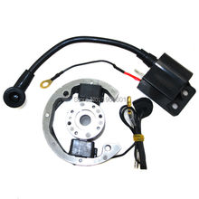 Stator Motor & Ignition Coil For Flywheel KTM 50CC SX Pro JUNIOR SR JR Adventure 2000-2013 free shipping