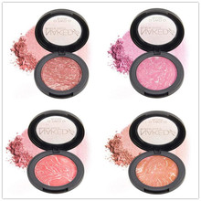 8 Colors BY O.TWO.O Blush Makeup Cosmetic Natural Baked Blusher Powder Palette Charming Cheek Color Make Up Face Blush