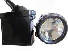 LED lithium battery mining safety cap lamp(3W cree,CE/Exs I certification,IP67,KL6LM,free shipping)