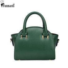 FUNMARDI New Arrival Fashion Women's Hobos Simple Design Shoulder Bags Star Style Cross Body Bags British Casual Bags WLAM0076(China)