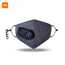 In Stock Xiaomi Purely Anti-Pollution Air Mask With Smart PM2.5 Rechargeable Filter Three-dimensional Structure Excellent Purify