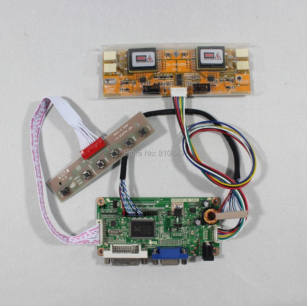 DVI+VGA LCD controller board RT2261  work for 15inch LTM150XH-L06 1024*768 lcd panel<br><br>Aliexpress
