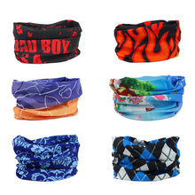 Bicycle Magic Scarf Seamless Outdoor Sports Motorcycle Bandana Wind Sand Dust Women Man Neckerchief Headband Cycling Face Mask
