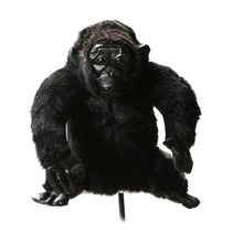 NEW Golf Club Headcover Plush Animal Chimpanzee wood covers Golf Protection Cover free shipping