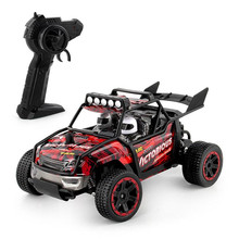 Buy RC Car 1/18 4WD Remote Control High Speed Vehicle 2.4Ghz Electric Wltoys Monster Truck Buggy Off-Road Toys Children Gifts for $42.69 in AliExpress store