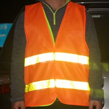 High Visibility Traffic Warning Reflective Safety Vest Clean Road Construction Working Clothing Motorcycle Reflective Safety(China)