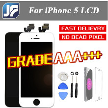1PCS Tinama No Dead Pixel LCD For Apple iPhone 5 LCD Display With Touch Screen Digitizer Assembly Free  Shipping