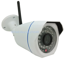 2 Pieces IP Camera WiFi H.264 Video Surveillance Wireless CCTV Camera 720P HD MiniWaterproof Outdoor Security Camera(China)